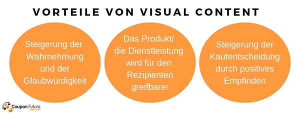 Vorteile von Visual Content